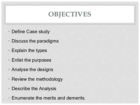 hai study section image gallery study objectives