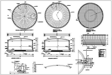 design criteria for reservoir reservoir design 60m3 dwg block for autocad designs cad