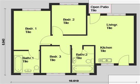Floor Plans For Houses Free | free printable house blueprints free house plans south