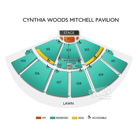 cynthia woodlands pavilion seating cynthia woods mitchell pavilion tickets cynthia woods