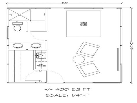 500 sq ft floor plans 500 square feet 400 square feet tiny house floor plans
