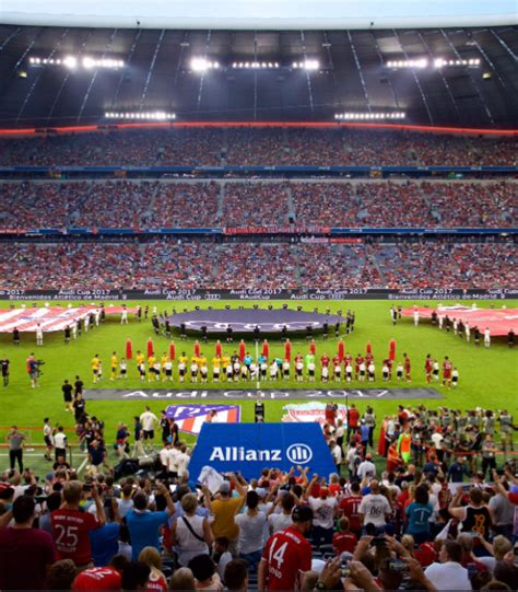 Audi Cup Finale by Audi Cup Final Liverpool Vs Atletico Madrid