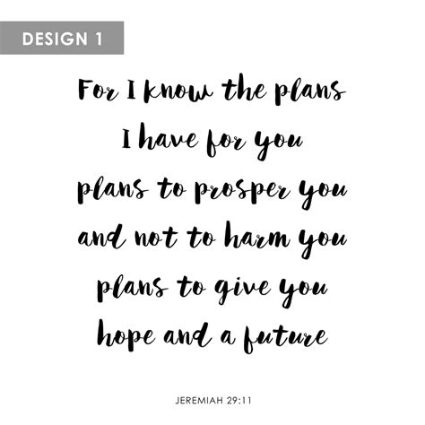 personalized canvas jeremiah 29 11