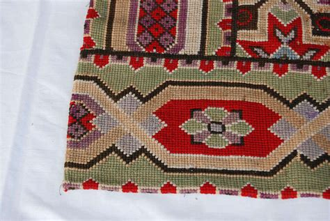 19th c needlepoint area rug at 1stdibs