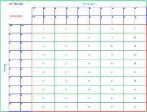 Baby pool template excel for pinterest