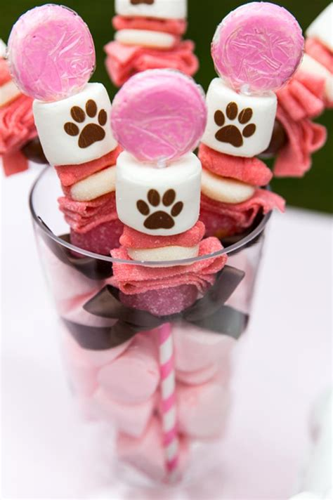Karas Party  Ee  Ideas Ee   Pink Puppy Party With Really Cute