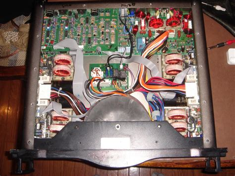 Toaster Settings Inside A Crown K2 Amp