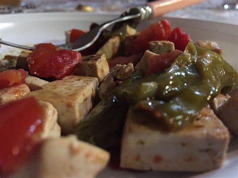 cucinare il tofu ricetta tofu e friggitelli ricetta di patata bollente