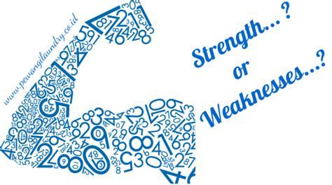 Kekuatan Dalam Kelemahan mengetahui kekuatan dan kelemahan bisnis