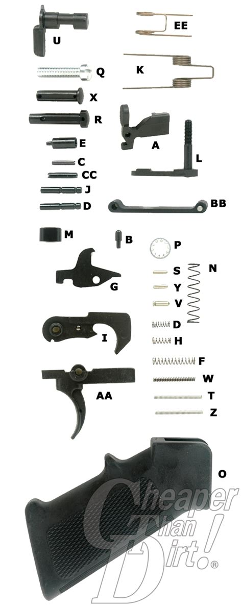 ar 15 parts diagram lower receiver what your ar 15 lower build needs