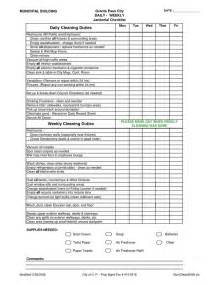 Cleaning Supplies Checklist by Janitorial Duties Checklist Images