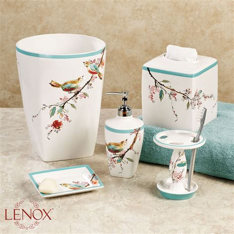 lenox bathroom accessories lenox simply fine chirp bath accessories