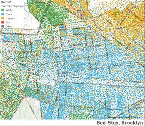 bed stuy zip code mapping america one block at a time yours included