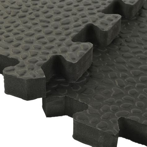 Exercise Room Flooring   Pebble Top Foam Tiles, Exercise