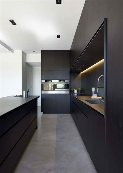black kitchen ideas 43 dramatic black kitchens that make a bold statement