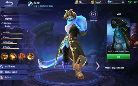 mobile legend guide bane guide and equipment 2018 mobile legends