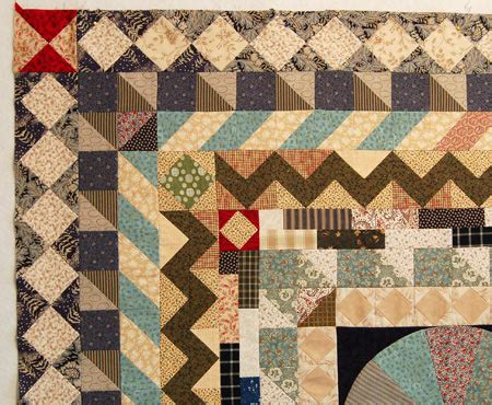 Border Quilt Patterns by Medallion Quilt Along Border 6 Diamonds Bloomin