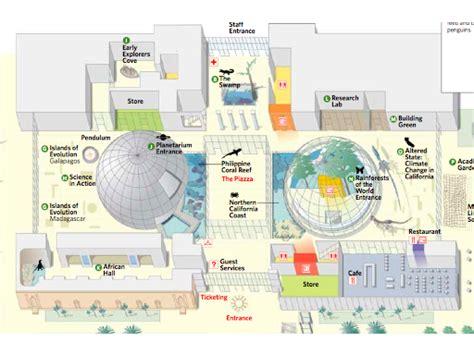 california academy of sciences floor plan 與魚和企鵝的約會 加州科博館 california academy of sciences 六月 加州 天氣