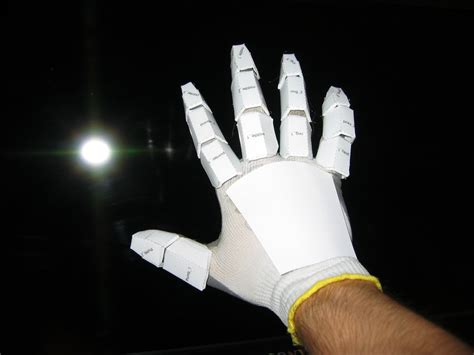 How To Make A Paper Iron Glove - iron gloves v0 002 by degalus on deviantart