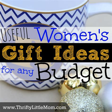 useful women s gift ideas for any budget 187 thrifty little mom