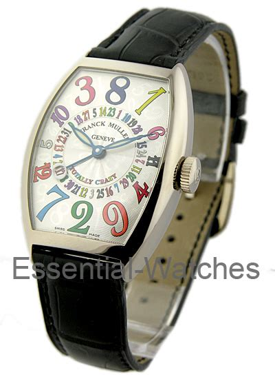 Franck Muller Infinity Colour Dreams White 5850 tt ch codr franck muller totally white gold essential watches