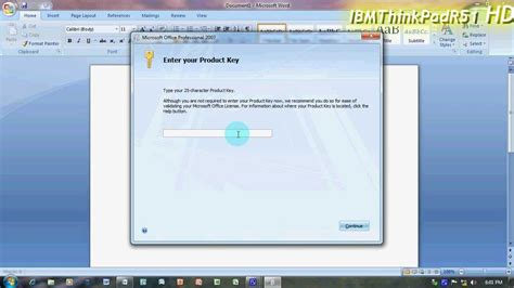 How To Make Microsoft Office 2007 60 Day Trial A Full Office 2007 Demo