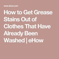 1000 ideas about grease stains on pinterest stains to remove and how to remove
