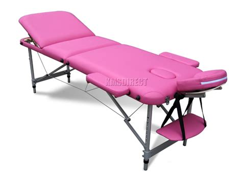 portable massage couches pink portable massage table bed beauty therapy couch 3