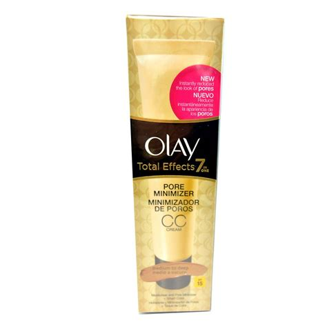 Olay Total Effects 7 In One Pore Minimizing Toner crema pentru atenuarea porilor olay total effects 7 in 1 pore minimizer cc spf15 medium