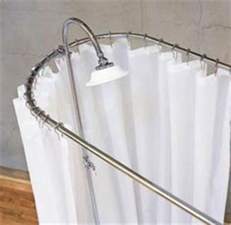 bathtub shower curtain surround clawfoot tub shower curtain for master bath good blog