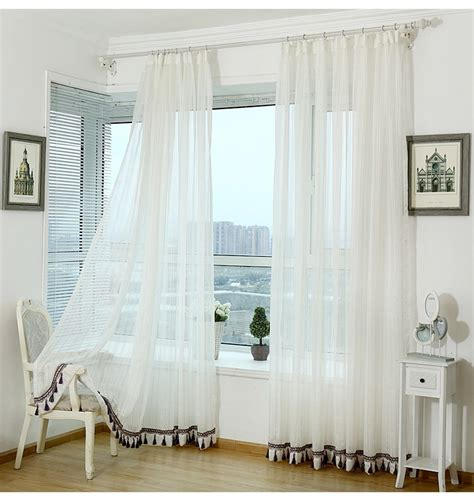 wide width curtains ready made 100 polyester wide width white voile fabric ready made