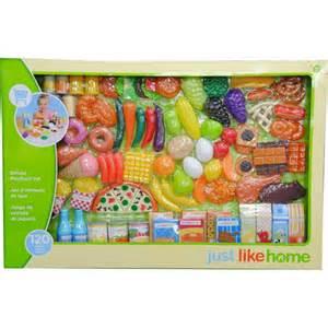 just like home mega food playset toys r us