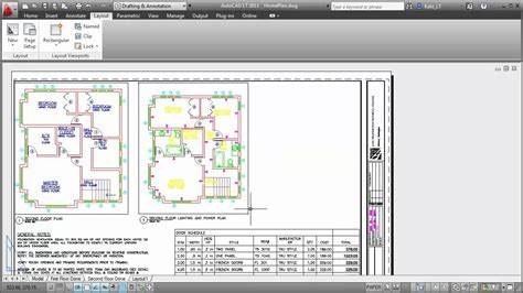 autocad layout and viewport autocad lt 2013 views viewports youtube