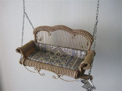 victorian porch swing custom order for william yantz miniature victorian porch