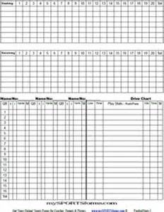 Soccer Stat Sheet Template by Football Offensive Stat Sheet Template