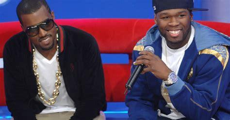 Majalah Rolling Nov 2007 50 Cent Vs Kanye West kanye west vs 50 cent rolling