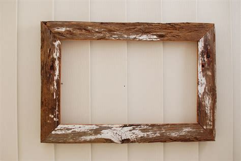 woodworking picture frame distressed white driftwood 12x19 rustic wood frame by