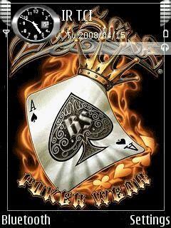 e63 animated themes nokia e63 animated poker ace theme