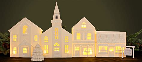 House Building Software christmas village luminary pazzles craft room