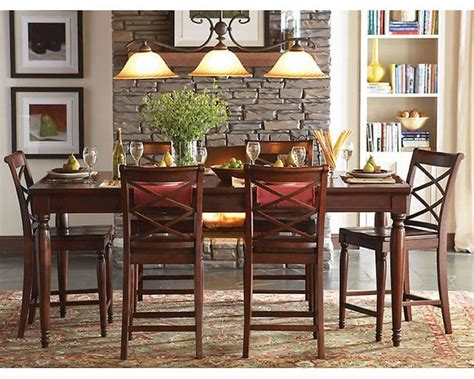 Aspen Home Dining Room Furniture by Aspenhome Counter Height Dining Set Cambridge Asicb 6252set