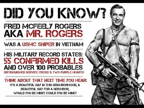 urban legends mr rogers was a marine sniper youtube