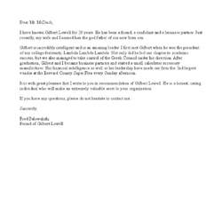 peer letter of recommendation template letter of
