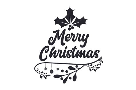 merry christmas svg cut file  creative fabrica crafts creative fabrica