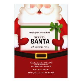 secret santa invitations secret santa invites
