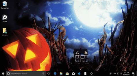 halloween themes for windows 10 trick or treat halloween theme for windows 10