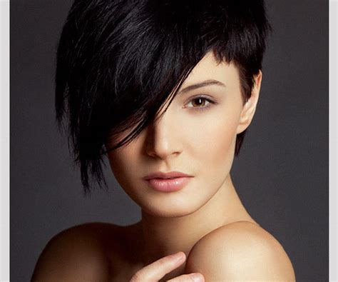 hairstyles that are shorter on one side sleek hairstyles side bangs medium hair styles ideas 38394