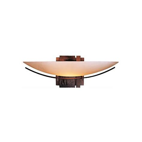 Wide Wall Sconce Hubbardton Forge Impressions 16 1 2 Quot Wide Wall Sconce
