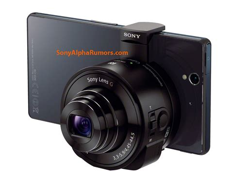 camara lens first pictures of sony s external lens camera outed