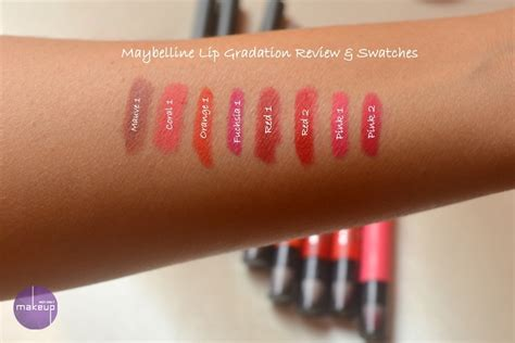 Maybelline Gradation Lip all maybelline lip gradation review swatches price