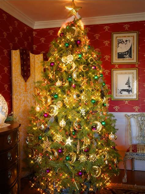 20 stylish elegant ideas for christmas tree decorations